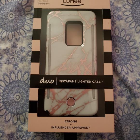 innovative design 50c57 43766 Lumee Samsung galaxy s9 plus light up case NWT